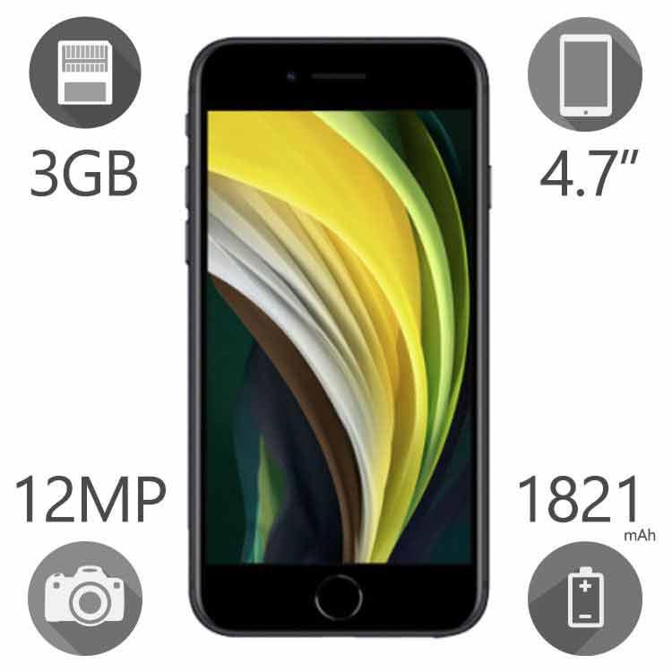 گوشی موبایل اپل مدل iPhone SE 2020 ظرفیت ۱۲۸ گیگابایت رم ۳ گیگ دو سیم کارت LLA