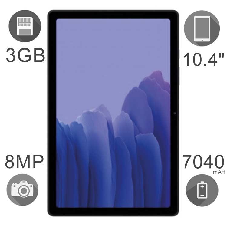 تبلت سامسونگ مدل (T505) Galaxy Tab A7 10.4 ظرفیت ۳۲ گیگابایت رم ۳ گیگ تک سیمکارت
